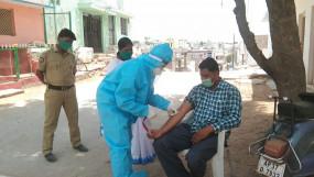 तेलंगाना में नमूनों की जांच घटाने के साथ कोरोना मामलों में भी गिरावट