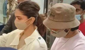 Drugs Case: दीपिका पादुकोण गोवा से मुंबई पहुंची, शनिवार को NCB की टीम करेगी पूछताछ