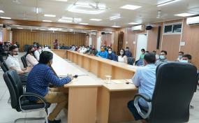 दिल्ली सीएम ने जिम एसोसिएशनों के प्रतिनिधियों से की मुलाकात