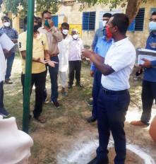 जयपुर: चुनाव पर्यवेक्षक ने किशनगढ़-रेनवाल एवं फागी पंचायत समिति के मतदान केन्द्रोें का निरीक्षण कर दिए आवश्यक निर्देश