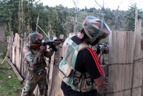 कश्मीर के पुलवामा जिले में सुरक्षाबलों, आतंकवादियों के बीच मुठभेड़