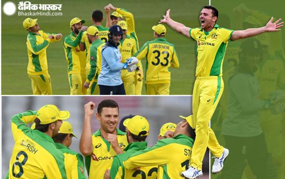 ENG VS AUS: ऑस्ट्रेलिया ने पहले वनडे मैच में इंग्लैंड को 19 रन से हराया, सीरीज में 1-0 की बढ़त बनाई