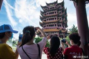 वुहान में नि:शुल्क पर्यटन, पर्यटकों में 34 प्रतिशत की वृद्धि