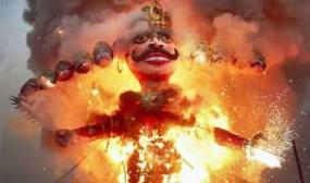 नवरात्र में गरबा-डांडिया पर रहेगी रोक, रावण दहन के लिए करना होगा नियमों का पालन