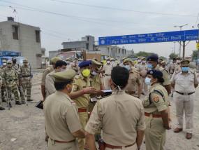 गौतमबुद्धनगर : तीन जिलों की पुलिस ने चलाया ऑपरेशन प्रहार, हिरासत में 27 संदिग्ध