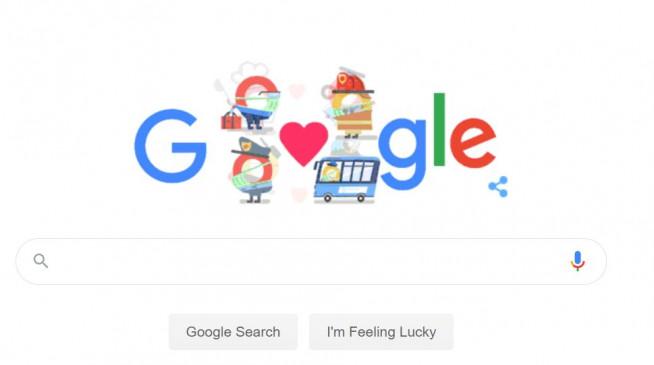 Google ने कोरोना वारियर्स को खास अंदाज में दिया धन्यवाद, ऐसे किया सम्मानित