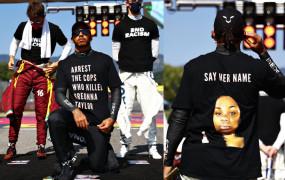 नस्लवाद विरोधी टी-शर्ट पहनने पर हेमिल्टन को करना पड़ सकता है जांच का सामना