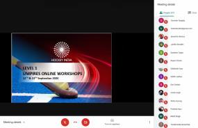 हॉकी: एचआई ने नए तकनीकी अधिकारियों के लिए आयोजित की ऑनलाइन वर्कशॉप
