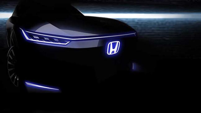 E-Vehicle: Honda जल्द उठाएगी इलेक्ट्रिक कार से पर्दा, टीजर में दिखा स्टाइलिश फ्रंट लुक
