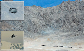 LAC पर बढ़ा तनाव: सेना ने शुरू की मोर्चाबंदी, भारतीय लड़ाकू विमानों ने उत्तराखंड से लगी चीन सीमा पर भरी उड़ान