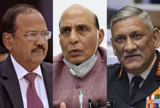 India China: 'चाइना स्टडी ग्रुप' की बैठक में डोभाल, राजनाथ और रावत ने एलएसी के हालात पर समीक्षा की, जानें चीन से अगली बैठक में क्या कहेगा भारत