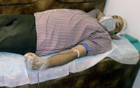 भारतीय प्रवासियों ने सऊदी अरब के 90वें राष्ट्रीय दिवस पर रक्त दान किया