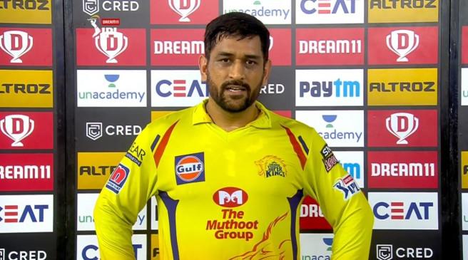 IPL-13: लगातार दूसरी हार के बाद बोले धोनी, हमारे बल्लेबाजी क्रम में सुधार की जरूरत