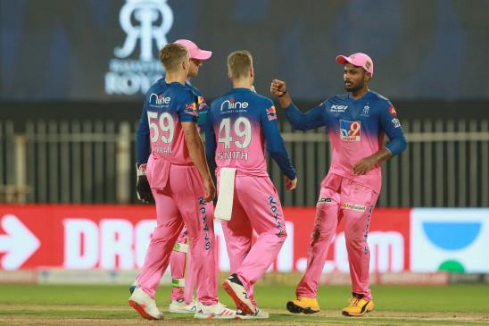 आईपीएल-13 : राजस्थान ने पंजाब को 4 विकेट से हराया
