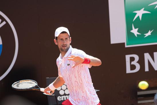 Italian Open 2020: नोवाक जोकोविच दूसरे राउंड में पहुंचे, साल्वाटोरे कारयुसो को दी मात