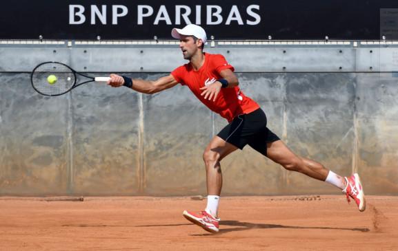 Italian Open 2020: जोकोविच 11वीं बार टूर्नामेंट के सेमीफाइनल में, राफेल नडाल टूर्नामेंट से बाहर