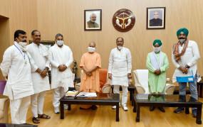 योगी से मिले भाकियू के नेता, कृषि विधेयकों के खिलाफ 25 सितंबर को करेंगे चक्का जाम
