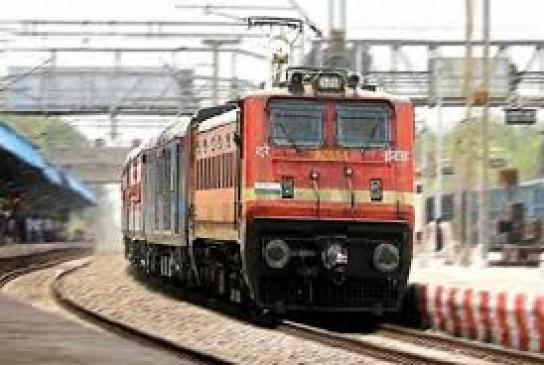 भिवंडी से चलाई जाने वाली पार्सल ट्रेन से भेजे गए 28 हजार से ज्यादा पार्सल