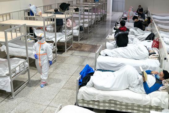 नागपुर: 5000 बेड वाले जम्बो अस्पताल की निकली हवा