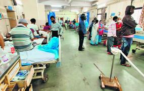 प्राइवेट हास्पिटल में कोविड मरीजों के लिए 1800 बेड