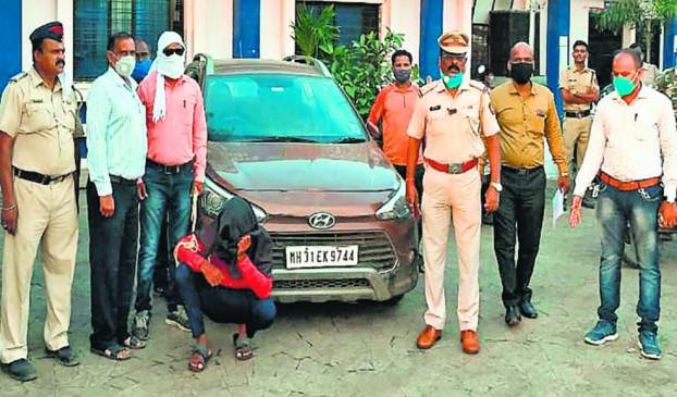 नागपुर : कार चढ़ाने का प्रयास बाल-बाल बची पुलिस