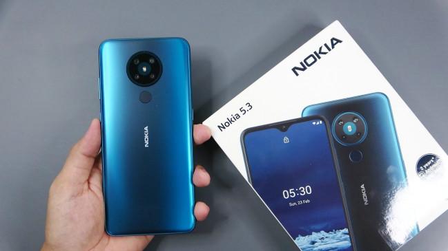 स्मार्टफोन: Nokia 5.3 अब ओपन सेल में हुआ उपलब्ध, जानिए कीमत और फीचर्स