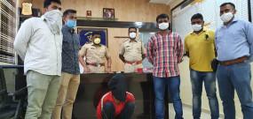 जलगांव जेल से फरार कुख्यात आरोपी बोइसर में गिरफ्तार