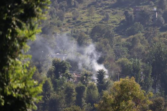 पाक ने एलओसी पर संघर्ष विराम का उल्लंघन किया