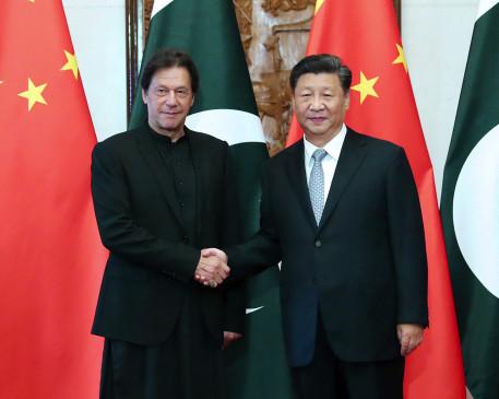 पाकिस्तानी जनता शी के दौरे को लेकर उत्साहित : इमरान खान