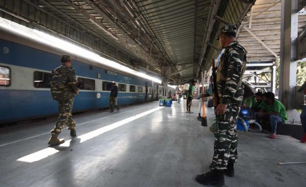 रेल रोको आंदोलन को देखते हुए रेलवे ने कई ट्रेनों को किया रद्द