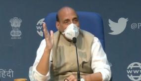 6 मंत्रियों की प्रेस कॉन्फ्रेंस: रक्षामंत्री राजनाथ ने शीर्ष मंत्रियों ने राज्यसभा में विपक्ष के व्यवहार को शर्मनाक बताया
