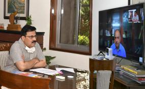 जयपुर: गैर बैकिंग वित्तीय कंपनियों और असंगठित निकायों से सम्बन्धित एसएलसीसी की बैठक में विभिन्न वित्तीय मसलों की समीक्षा