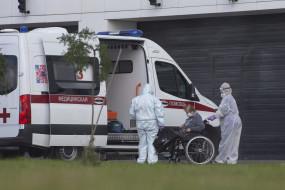 रूस : बीते 24 घंटे में कोरोना के 5,762 नए मामले