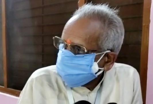 चपंत राय के बयान पर संतों ने जताया विरोध