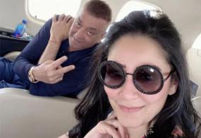 Bollywood: लंग कैंसर के इलाज के लिए पत्नी मान्यता संग दुबई रवाना हुए संजय दत्त!