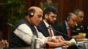 SCO समिट से राजनाथ का संदेश: शांति के लिए आक्रामक तेवर ठीक नहीं, हम आतंकवाद और इसका समर्थन करने वालों की निंदा करते हैं