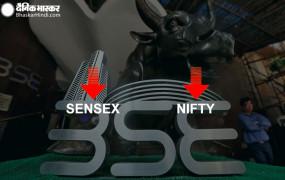 Closing bell: सेंसेक्स में 9 साल की सबसे बड़ी गिरावट, 1,115 अंक लुढ़का, निफ्टी 10805 के नीचे बंद हुआ