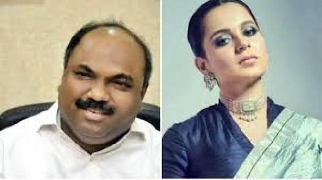 शिवसेना के मंत्री परब ने कहा- अब मुंबई से बोरिया बिस्तर समेट लें कंगना