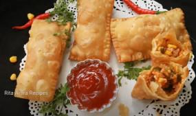 Snacks: ऐसे बनाएं पिज्जा मैकपफ, सभी को आएगा पसंद