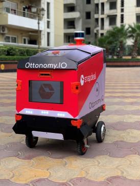 स्नैपडील ने घरों तक डिलीवरी के लिए किया रोबोट परीक्षण