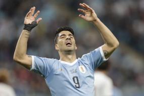 विश्व कप क्वालीफायर्स के लिए सुआरेज उरुग्वे टीम में शामिल
