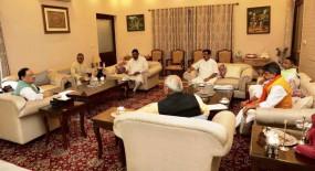 बीजेपी की कोर कमेटी की मीटिंग में गूंजा बंगाल में बदहाल कानून व्यवस्था का मुद्दा
