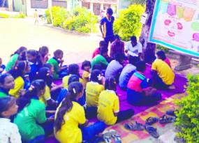 नौनिहालों ने संभाली ग्राम पंचायत, सरपंच,उपसरपंच सहित बाल समिति कर रही काम