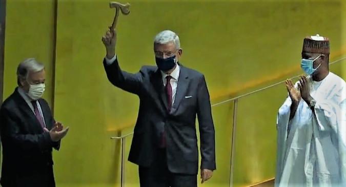 वैश्विक संकट के बीच यूएनजीए का 75 वां वर्षगांठ सत्र शुरू