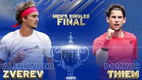 US Open 2020: डोमिनिक थीम और एलेक्जेंडर ज्वेरेव पहली बार यूएस ओपन के फाइनल में, 14 सितंबर को दोनों के बीच होगी भिड़ंत