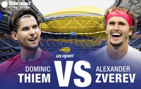 US Open 2020: थीम-ज्वेरेव आज यूएस ओपन के फाइनल में आमने-सामने, दोनों की नजर पहले ग्रैंड स्लैम खिताब पर