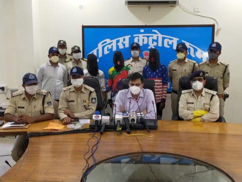 व्यापारी से लूटपाट कर घर से 15 हजार रुपये मँगवाने वाले शातिर लुटेरे पकड़ाए - नई बाइक खरीदने के लिए पहुँचे थे लुटेरे