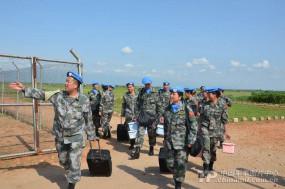 चीन के 24वें खेप वाले शांति रक्षक कांगो पहुंचे