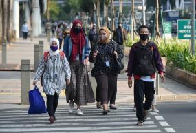 इंडोनेशिया में कोरोना के 4,127 नए मामले