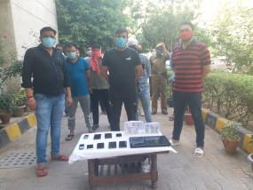 आईपीएल मैच में सट्टा लगाते दिल्ली से 6 गिरफ्तार